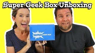 Super Geek Box February Unboxing