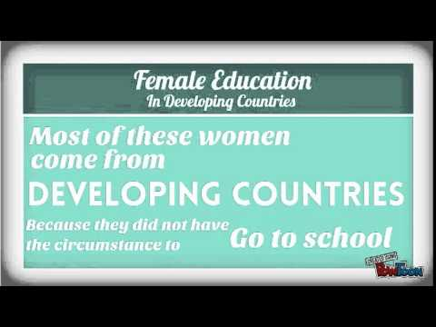 Education of Women in Developing Countries