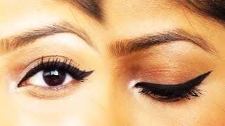 How to create the perfect Winged/Cateye Eyeliner!
