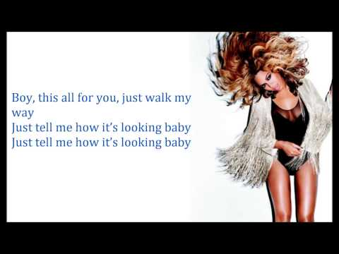 Beyoncé - Yoncé (Lyrics)