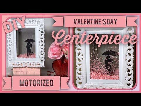 DIY Valentine's Day Motorized Globe - Romantic 3D Animated Centerpiece - Dollar Tree Valentine Decor