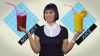 Juice vs. drink: Canada's food laws explained (CBC Marketplace)