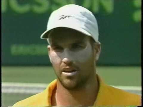 Patrick Rafter vs Roger Federer (2001 Key Biscayne Quarterfinal)