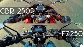 Yamaha FZ25 Vs CBR 250R | Which one to Buy