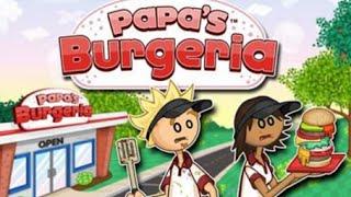 Papa's Burgeria Full Gameplay Walkthrough