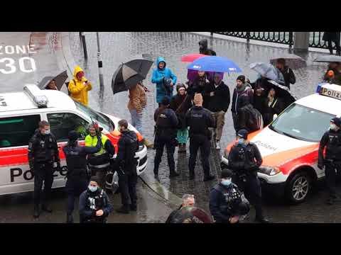 RheinTV LIVE: Spaziergang in Zürich, 30.01.2021 und erschütternde Bilder