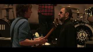 Paul McCartney and Ringo Starr Rehearsing