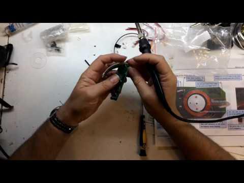 DIY Spherical Rotating LED Kit POV from Banggood.com Part 6