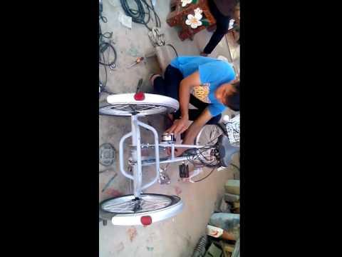 จักรยานสามล้อไฟฟ้าช่างอุ้มปทุมรัตต์2