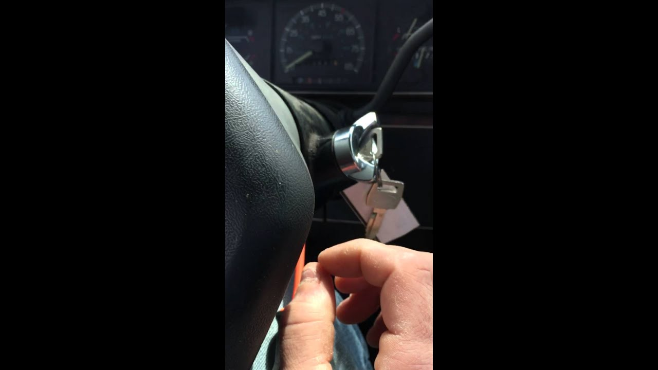 Ford 300 L6 Wiring Diagram Replace Ignition Switch On 1990 F150 Youtube