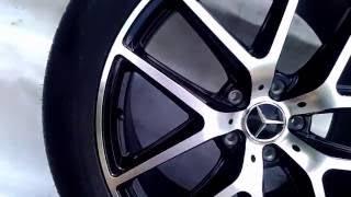 Диски с шинами 21радиуса на Mercedes G класс, NEW 6 3 AMG, полированные