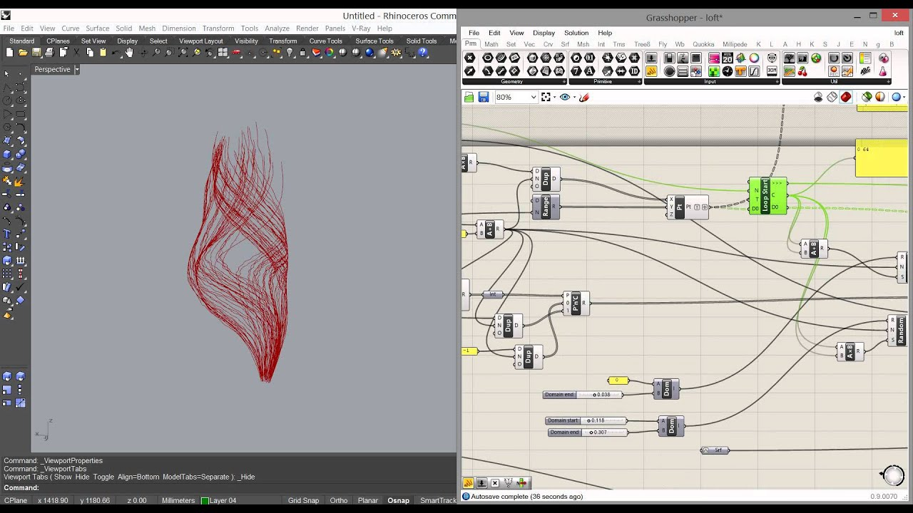 Silkworm Tutorial: 3d printed spiral/ workflow introduction by