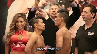 DONNIE NIETES VS ASTON PALICTE - FULL WEIGH IN & FACE OFF - SUPERFLY 3
