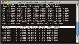 Demonstration of PPSS parallel converting of WAV files to MP3