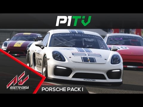 Assetto Corsa  Porsche Pack I - Cayman GT4 Clubsport [T300 599XX] [PC]