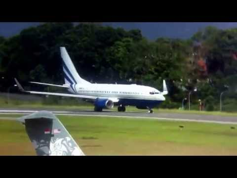 B737 N887LS Takeoff Rwy03 WSSL/XSP Seletar