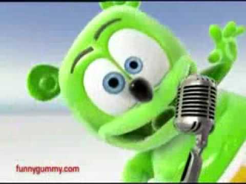 gummy bear,bailando el mechon!!!