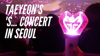 'S... Taeyeon Solo Concert in Seoul! | Journey with Jacqui