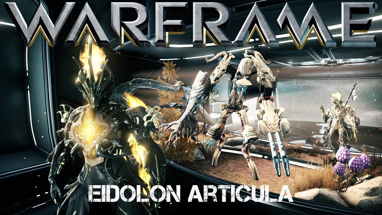 Warframe Eidolon Articula Orbiter Decoration (Update 22 12)