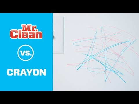 How to Remove Crayon from Walls | Mr. Clean®