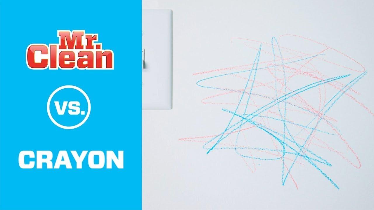 Get Crayon Off Walls Mr Clean