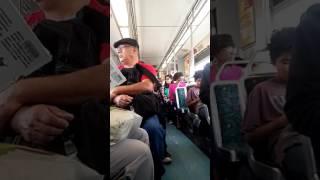 Metro Train. Blue line los Angeles.