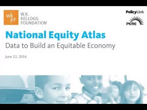 Introducing the National Equity Atlas Data and Policy Tool