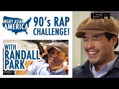 Randall Park 90's Rap Challenge!  Special Edition of Angry Asian America