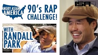 randall park 90 s rap challenge special edition of angry asian america