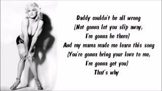 Madonna - Deeper And Deeper Karaoke / Instrumental with lyrics on screen