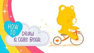 How to Draw a Care Bear! | Care Bears