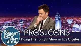 Pros and Cons: Doing The Tonight Show in Los Angeles