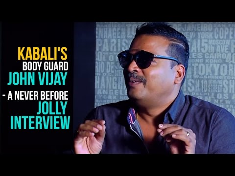 KABALI Rajini's bodyguard JOHN VIJAY - A never before JOLLY