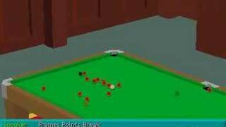 Virtual Snooker - Game Play