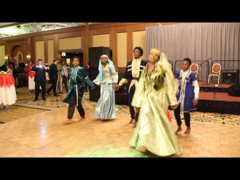 Azerbaijani National Dance YALLI by Ethiopian National Theatre Dancers, Addis Ababa