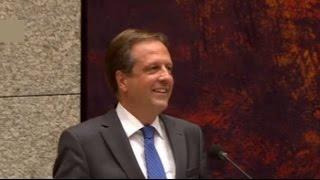 Het grappigste moment in de Nederlandse politiek