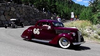 Thunder on the mountain:  Hot Rod Hill Climb Parade
