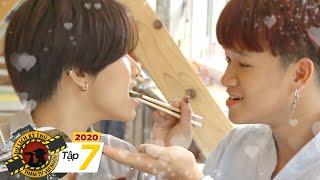Du Lịch Kì Thú 2020   Tập 7: Việt Thi và Winner tình tứ đút cho nhau ăn món thịt đặc biệt ở Akita