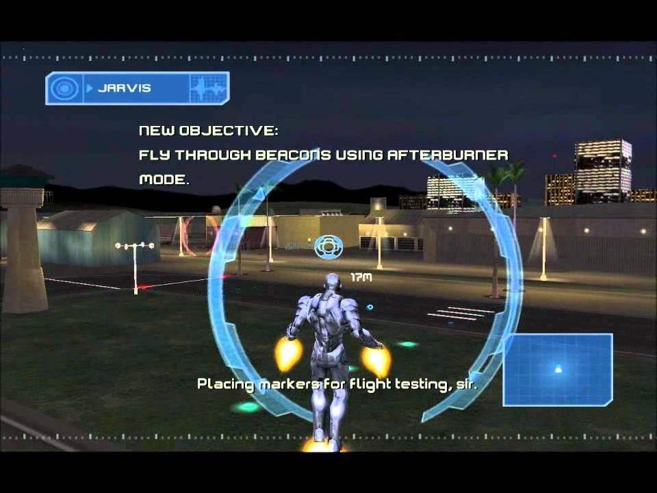 Iron Man Gameplay Part 2 - First Flight