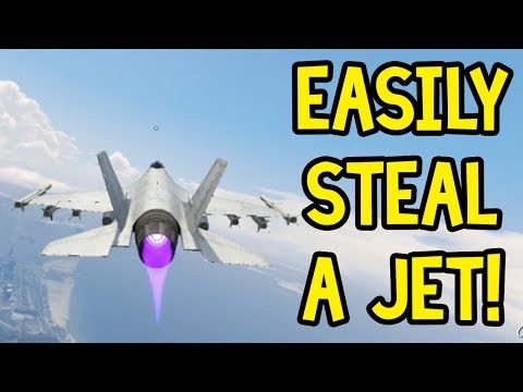 How to: Get a Military Jet Online! (GTA 5 Online Guide)