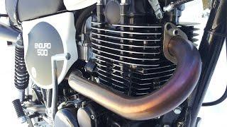 Yamaha XT 500 Motorbau Teil1