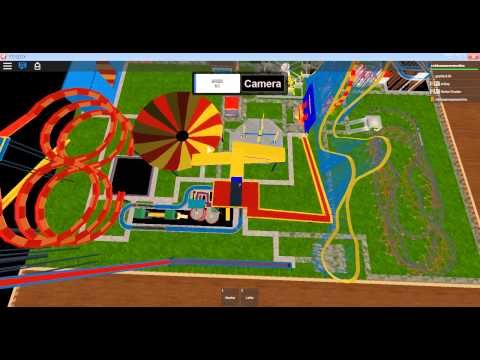 Roblox Amusement Park Review: Midway and Robloxia Gardens