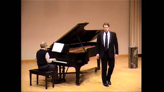Jonathan Lasch, baritone ~ 'To Lizbie Brown' ~ Gerald Finzi's EARTH and AIR and RAIN