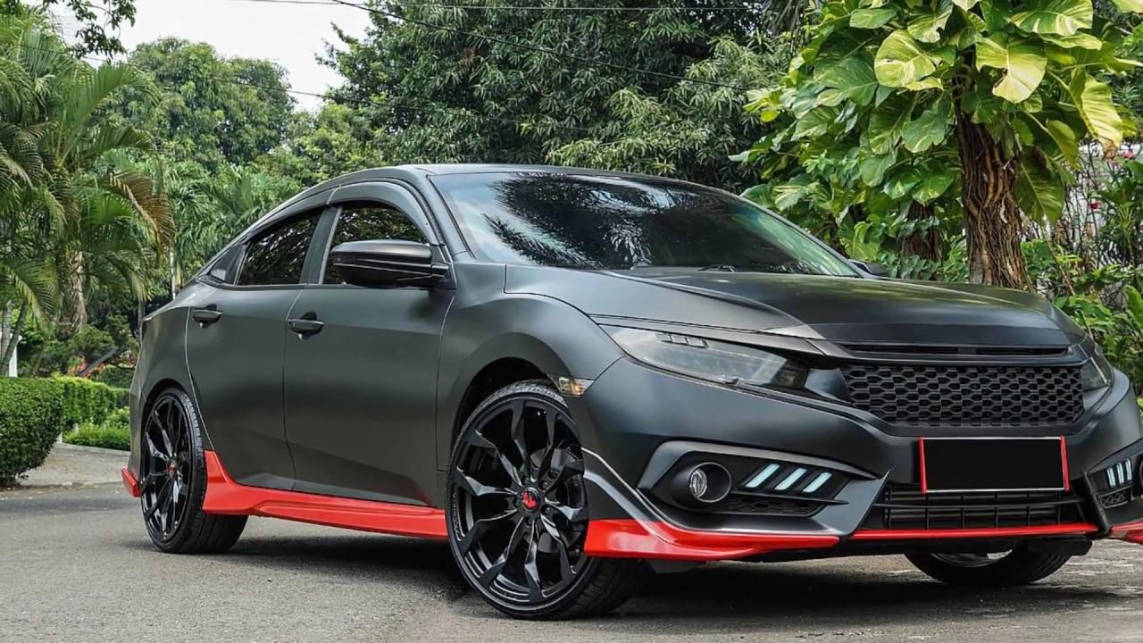 Modifikasi VELG Honda CIVIC Hatchback TURBO