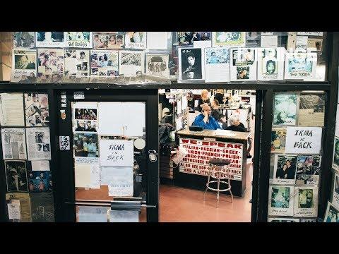 INFRINGE visits the iconic Astor Place, New York's biggest barbershop