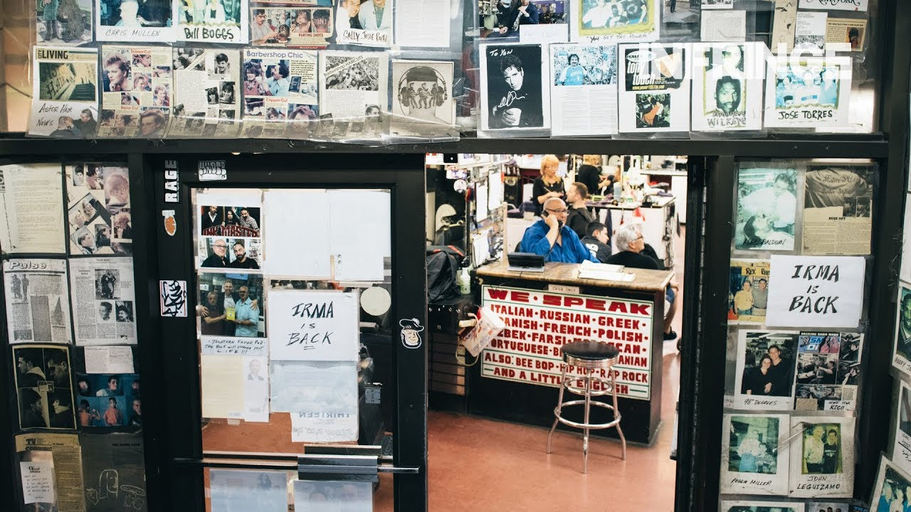 INFRINGE visits the iconic Astor Place, New York's biggest barbershop // INFRINGE Magazine