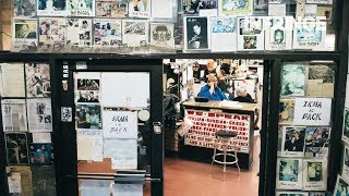INFRINGE visits the iconic Astor Place, New York's biggest barbershop