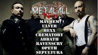 Mayhem Label Change Ulver cancel tour opeth crematory abbath sepultura hexx ranenscry