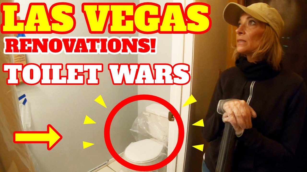 Life in Las Vegas Renovation Day 3 - The Boring Toilet Room