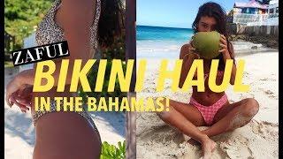 Bikini Haul + Lookbook IN THE BAHAMAS!!   ft. Zaful (under $20)